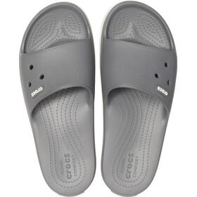 Crocs Crocband III Slides-sandaali, slate grey/white